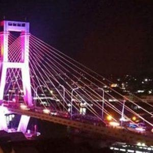 Uniknya Jembatan Soekarno dan Megawati di Manado