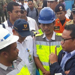 Komisi V DPR Tinjau Lokasi Kecelakaan Tol Manado-Bitung