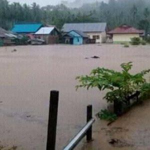 Ratusan Rumah di Boltim Terendam Banjir