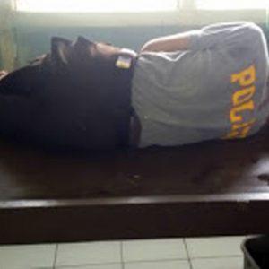 Takut Ditilang, Pemotor Tabrak Polisi Hingga Pingsan