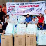 Jemaat Mapatu Salurkan Bantuan ke Sulteng