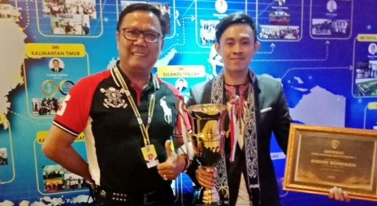 Membanggakan, Andre Sondakh Juara Nasional 2018