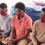Bawa Bom, Tiga Nelayan Dibekuk