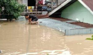 6 Orang Tewas, Ribuan Rumah di Medan Terendam Banjir