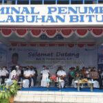 Kegiata Padat Karya Kemenhub di Pelabuhan Bitung. (foto.ist)